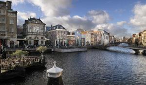 Leiden, terrasjes, shopping, de Waag, eten en drinken