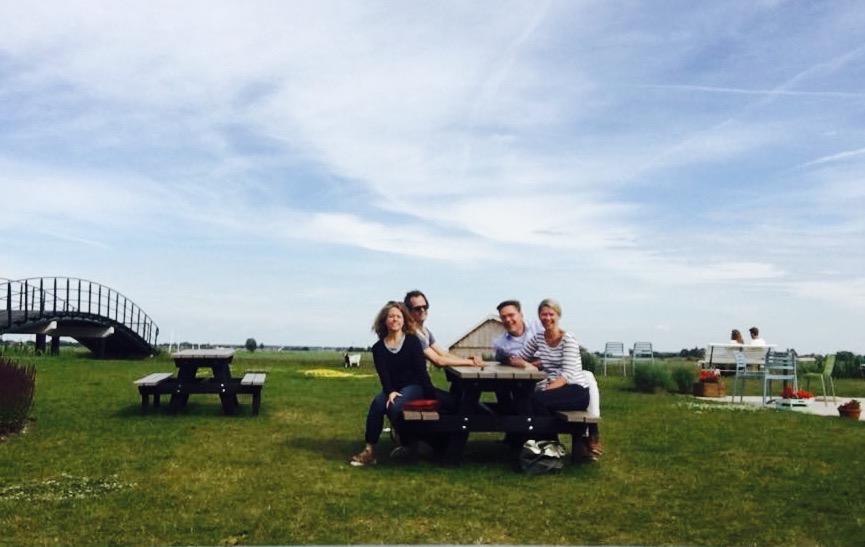 ijsboerderij, weipoort, groene hart, fietsen