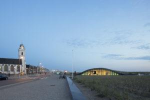 strand, duin, katwijk, bekroonde parkeergarage
