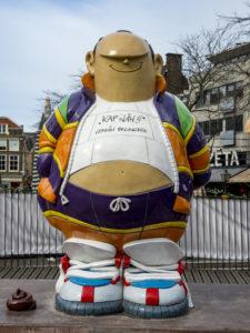 Den Haag, strip, hofstad