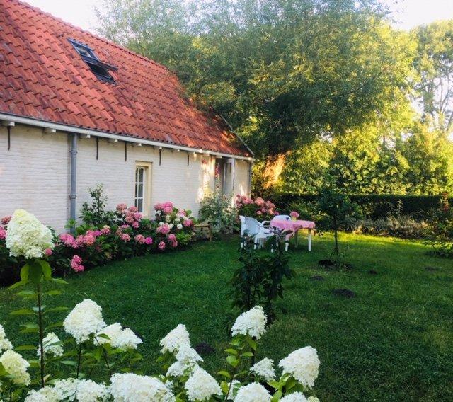 Fijne tuin bij de Padstal