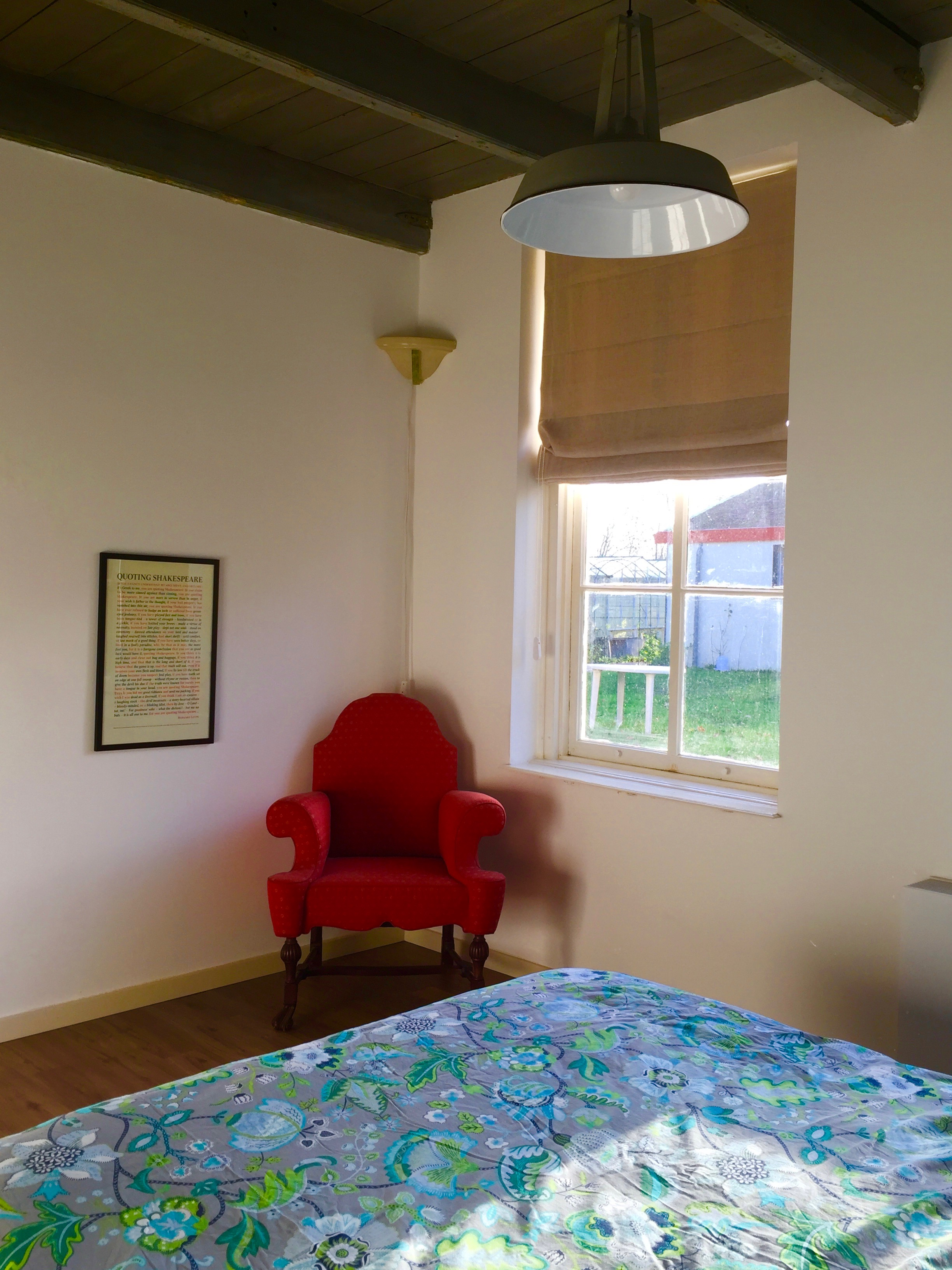 b&b, vakantiehuisje, ruime slaapkamer